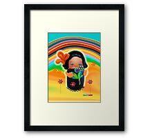 CHUNKIE Sunshine Framed Print