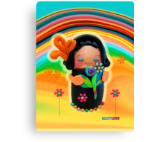 CHUNKIE Sunshine Canvas Print