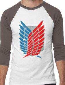 Scouting Legion Funny Geek Nerd Men's Baseball ¾ T-Shirt