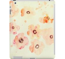 Water Color Flowers iPad Case/Skin