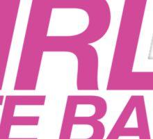 """""""GIRLS BITE BACK"""" DESIGN Sticker"""
