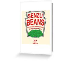 Senzu Beans Funny Geek Nerd Greeting Card
