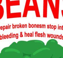 Senzu Beans Funny Geek Nerd Sticker