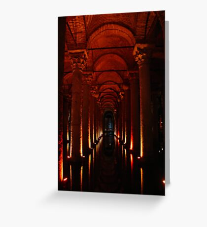 Basilica Cistern Greeting Card