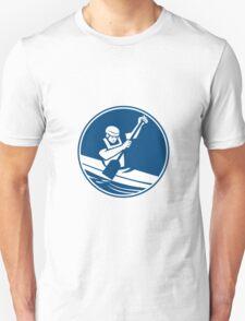 Canoeing Slalom Circle Icon T-Shirt
