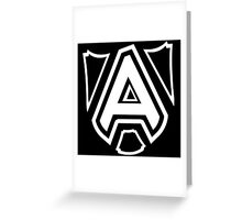 Shielded (Light) Funny Geek Nerd Greeting Card