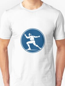 Fencing Side Circle Icon T-Shirt