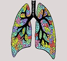 Psychedelic Lungs by littlewolfe