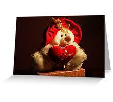 Love is...A Teddy Bear Greeting Card