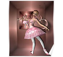 The Boxed Ballerina Poster