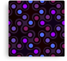 Tricky dots Canvas Print