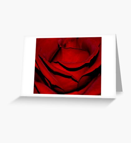 Heart of a Rose Greeting Card