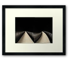 ways to Rome Framed Print