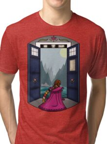 The view from here is pretty. Tri-blend T-Shirt