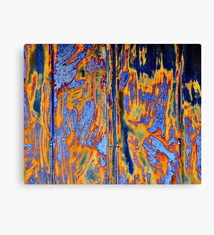 modification- patina 5 Canvas Print