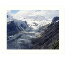 The highway of the glacier Art Print