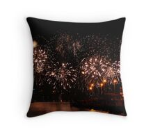 Pretty in pink! - Perth Skyworks 2009 Throw Pillow