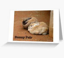 Bunny Pair Greeting Card