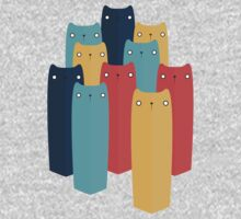 Cats One Piece - Long Sleeve