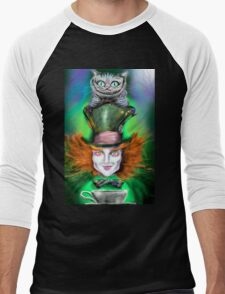 Cheshire Cat & Mad Hatter Alice in Wonderland T-Shirt