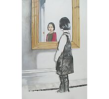 Emma in the Mirror Photographic Print