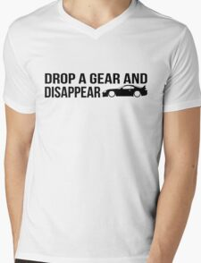 """Drop a gear and disappear"" - Toyota Supra Mens V-Neck T-Shirt"
