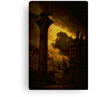 Venice....columns of St Mark Canvas Print