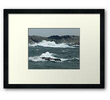 Rock-Bound Coast (2) Framed Print