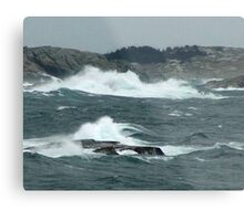 Rock-Bound Coast (2) Metal Print