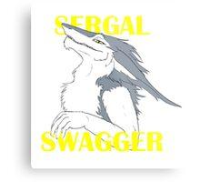 Sergal Swagger Metal Print