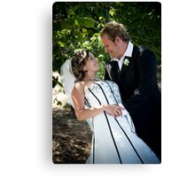 In my arms Canvas Print