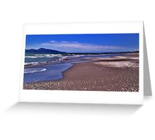 Paekakariki Beach in Summer Greeting Card