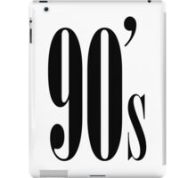 90's Kid iPad Case/Skin