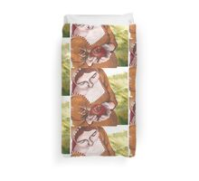 Mary and the Pomegranate Duvet Cover