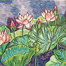 Lotuses I by Alexandra Felgate