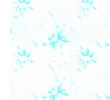 Aquatic Flowers Pattern Picture by Olesya-Christy