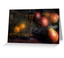 "Classic Still Life ""Fruit"" Greeting Card"