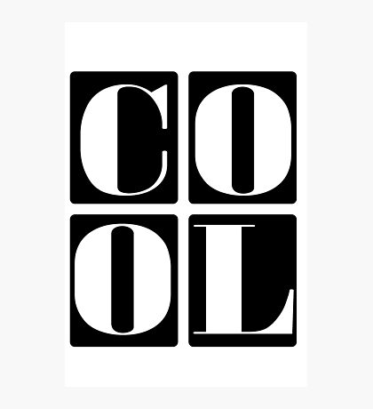 Cool Kids Photographic Print