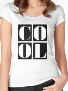 Cool Kids Women's Fitted Scoop T-Shirt