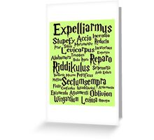 """Spells"" Greeting Card"