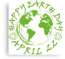 Earth Day Celebration 1 Canvas Print