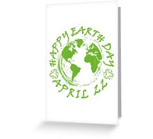 Earth Day Celebration 1 Greeting Card