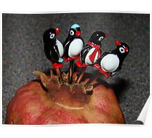 Penguins and Pomegranates..... Poster