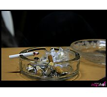 ashtray Photographic Print