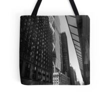 city light. broadway, new york city Tote Bag
