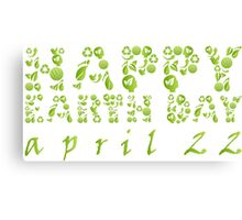 Earth Day Celebration 3 Canvas Print