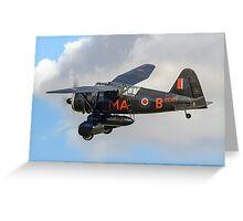 Westland Lysander IIIa V9367/MA-B G-AZWT Greeting Card