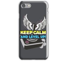 Keep Calm and Level Up! iPhone Case/Skin