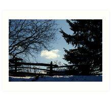 A Cloud in Winter.................. Art Print