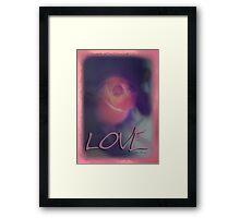 Simply Love © Vicki Ferrari Photography Framed Print